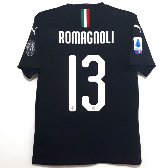 harga Jersey ac milan original 2019-2020 3rd romagnoli bnwt Tokopedia.com