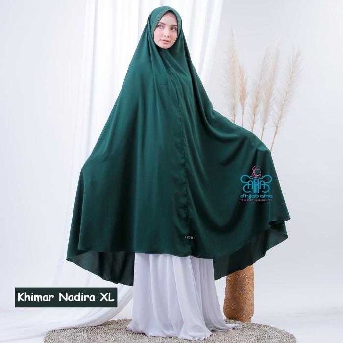 Jual Afna Khimar Nadira Xl Jilbab Jumbo Hijab Syari Instant Wolfis Non Pet Kota Surakarta Afna Store Tokopedia