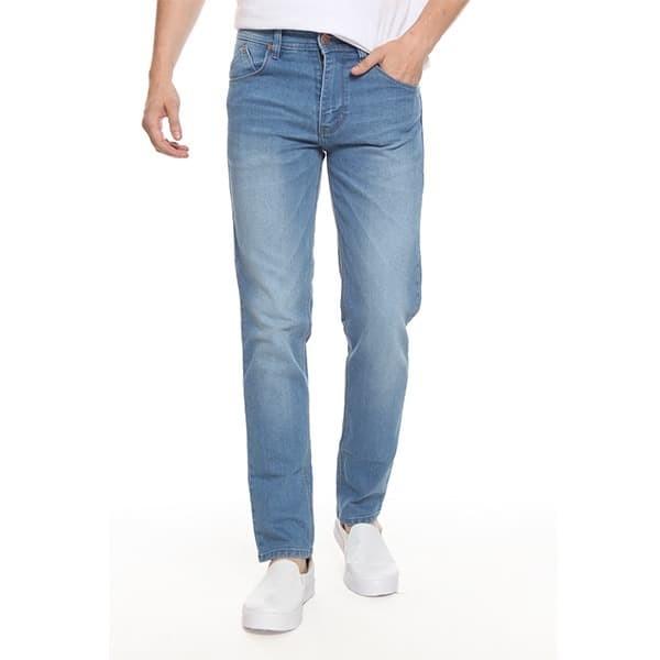 Foto Produk 2Nd RED Celana Jeans Slim Fit Premium Biru Muda Aksen Washed 131909 - Biru Muda, 29 dari 2nd RED Jeans