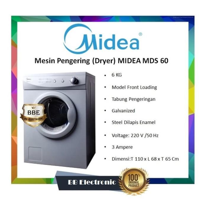 Foto Produk Mesin Pengering (Dryer) MIDEA MDS 60 dari BB ELECTRONIC