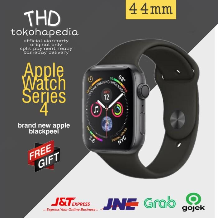 Foto Produk Apple Watch / iWatch Series 4 44mm Black Space Grey Sport Band MU6D2 - GPS ONLY dari tokohapedia