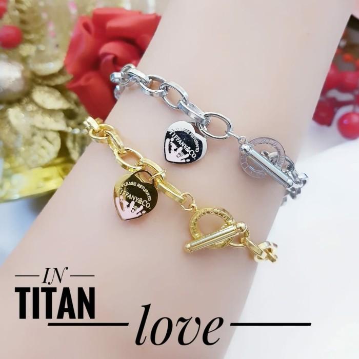Foto Produk titanium gelang wanita 2519 dari kevin joshe