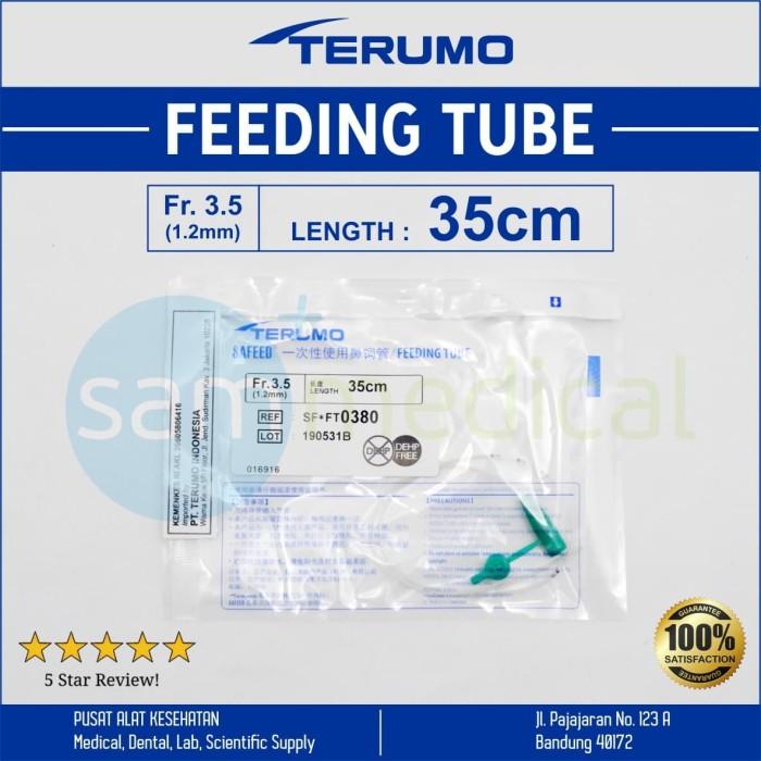 Foto Produk Terumo Safeed Feeding Tube 3.5 FR 35cm - Selang Makan dari SAM Medical