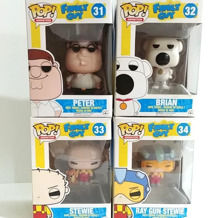 Family Guy Vinyl Ray Gun Stewie Funko Pop Vinyl DAMAGED OUTER BOX