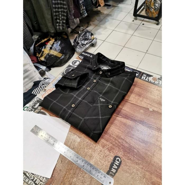 harga Kemeja flanel pria lengan panjang kemeja casual flannel cowok 9051 Tokopedia.com