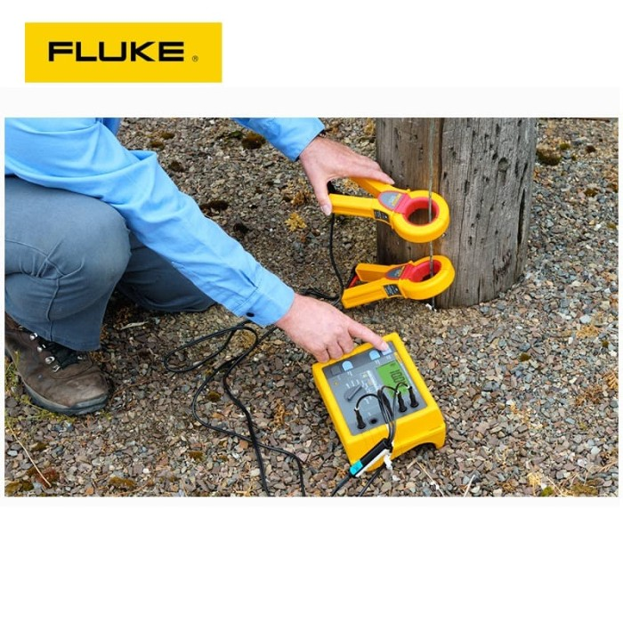 Foto Produk Fluke 1625 Earth & Ground Resistance Tester Kit FLUKE 1625 KIT dari Yanglin Shop
