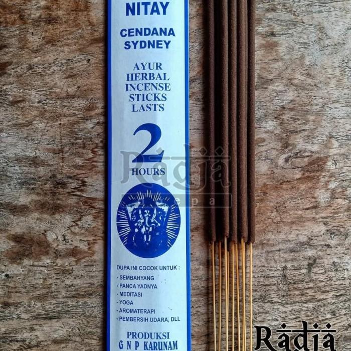 Foto Produk Dupa Hio Natural Cendana 2 jam 9 batang dari Radja Doepa