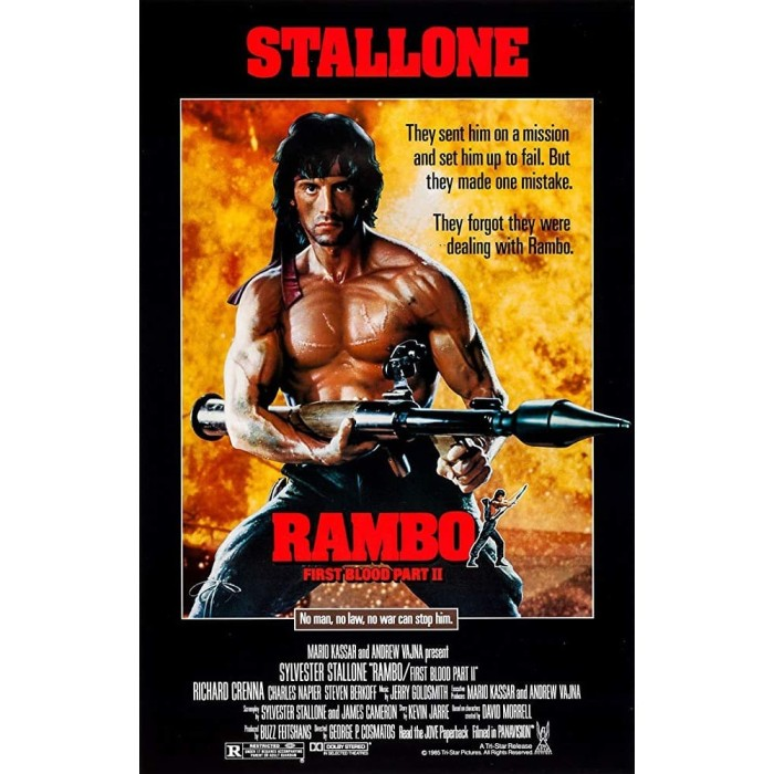 Jual Film Dvd Rambo First Blood Part Ii 1985 Teks Indonesia Play Dvd Kota Bandung Invisible Anime Toku Tokopedia
