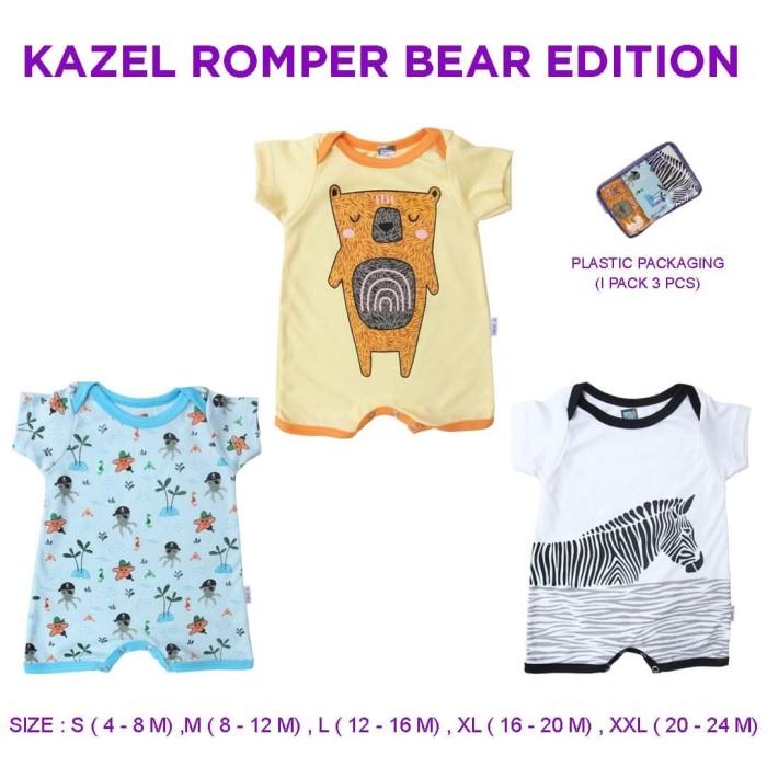 Foto Produk Kazel Romper Bear Edition - L dari Kazel Babywear