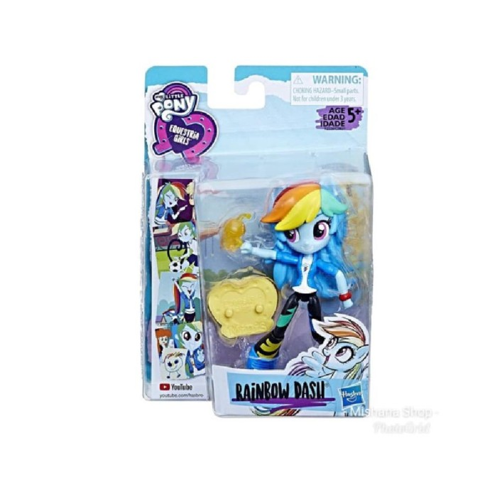 Jual My Little Pony Equestria Girls Mini Rainbow Dash Kota Surabaya Go Kios Online Tokopedia