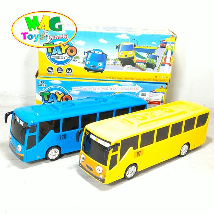 Foto Produk MOBIL TAYO BUMP AND GO - MAINAN ANAK MOBIL TAYO dari MAG TOYS