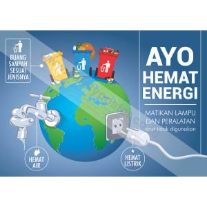 Jual Sp310 Poster K3 Safety A2 Ayo Hemat Energi Kota Bandung