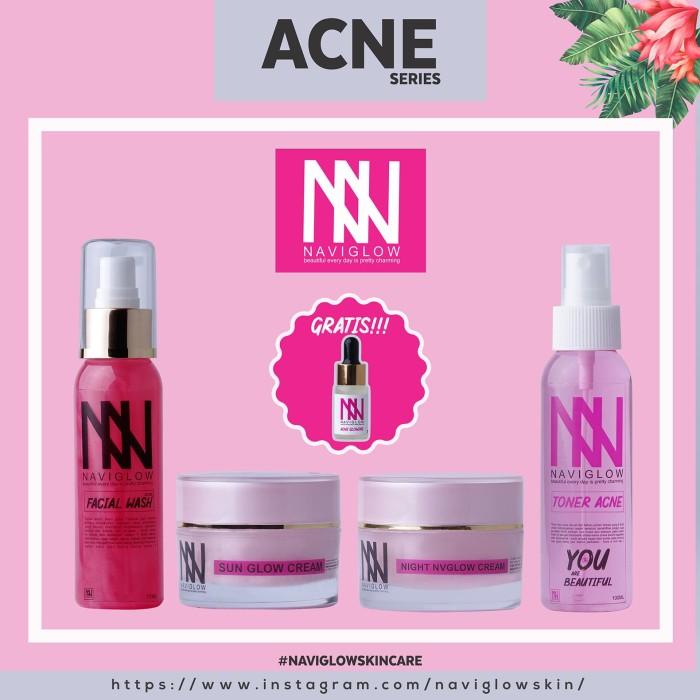 Jual Skincare Terbaik Khusus Jerawat Naviglow Paket Acne Series Kab Bandung Klomocil Shop Tokopedia