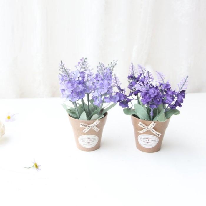 Jual Bunga Lavender Mini Jakarta Barat Mandarinempireindah Tokopedia