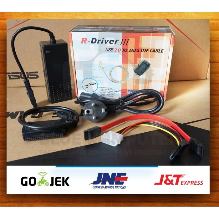Foto Produk Kabel USB to IDE SATA dari bluekomputer