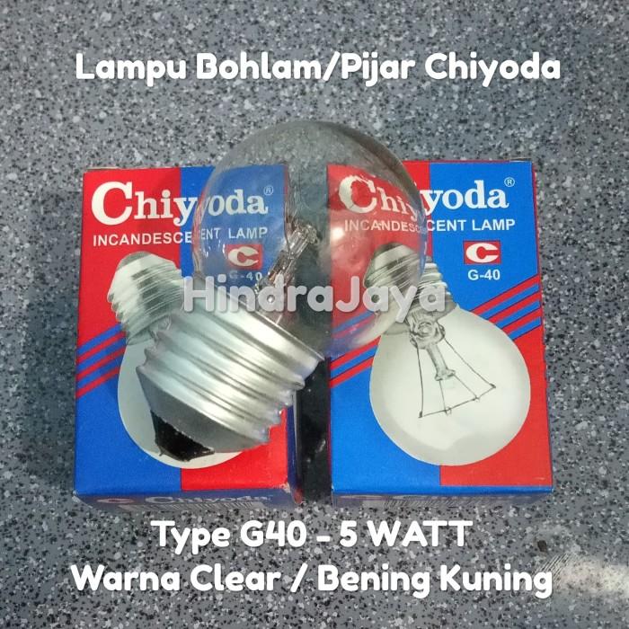 Foto Produk Lampu Bohlam / Lampu Pijar Chiyoda 5W dari Hindrajaya