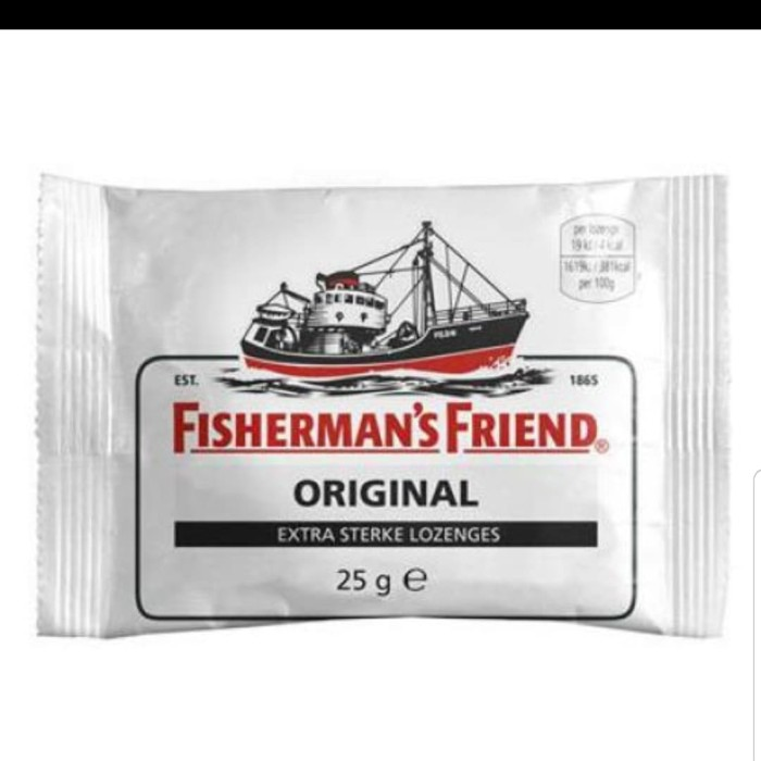 Jual Fisherman's Friend Original extra strong 25 gr