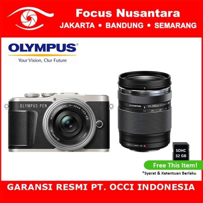 harga Olympus pen e-pl9 kit 14-42mm ez (black) + 14-150mm mark ii Tokopedia.com