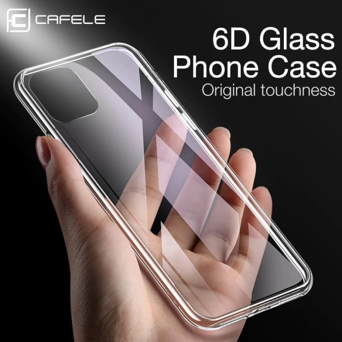 Foto Produk CAFELE Premium Light Glass Case - iPhone 11 Pro iPhone 11 Pro Max - iPhone 11 dari Cafele Official Store