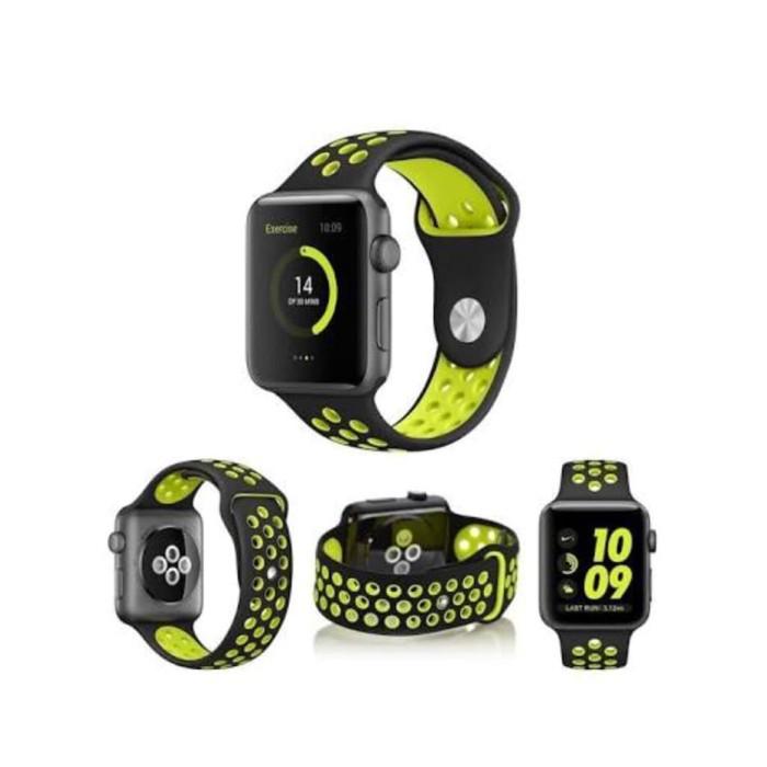 Foto Produk Strap sport band tali apple watch iwatch 5 4 3 2 Nike 38 40 42 44 mm dari goru