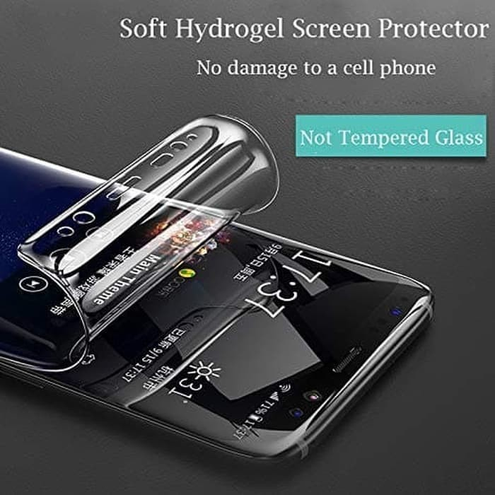 Foto Produk HYDROGEL ANTIGORES IPHONE XS MAX DEPAN BELAKANG SCREEN PROTECTOR dari ALL SHOP 88