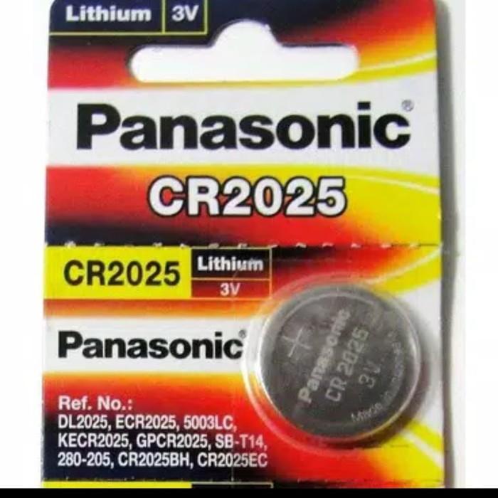 Foto Produk Panasonic CR2025 , Batre Lithium 3V Button Cell CMOS Remote Jam Tangan dari Faisal4246