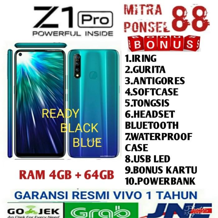 Foto Produk Vivo Z1 Pro Ram 4/64Gb Garansi Resmi 1 Tahun - Blue No Bonus dari Mitra Ponsel 88