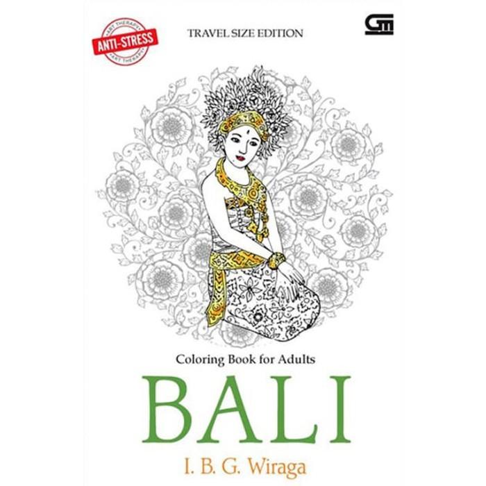 Jual Anti Stress Art Therapy Travel Size Bali Coloring Book Jakarta Pusat Bursa Market Tokopedia
