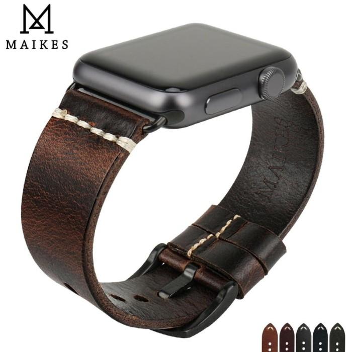 Foto Produk Strap Iphone Watch 38-44mm Tali Jam Iwatch MAIKES dari Tuku Onlen Jam