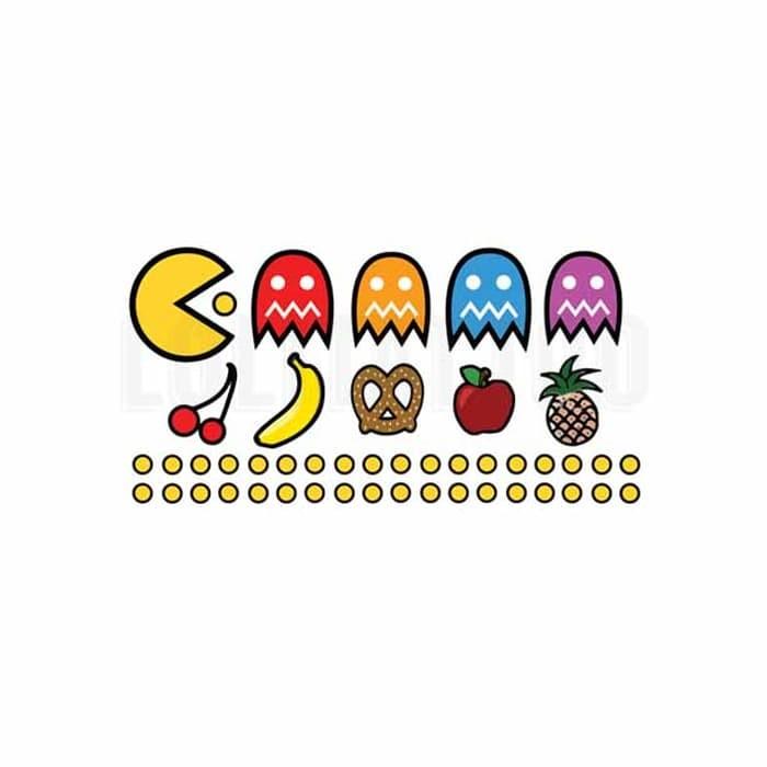 Smiley Emoji Temporary Tattoo Unisex Party Bag Toy x 6