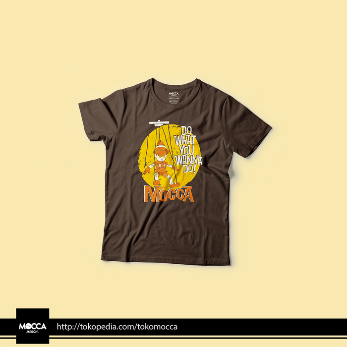 Foto Produk KAOS MOCCA DO WHAT YOU WANNA DO - XL dari tokomocca