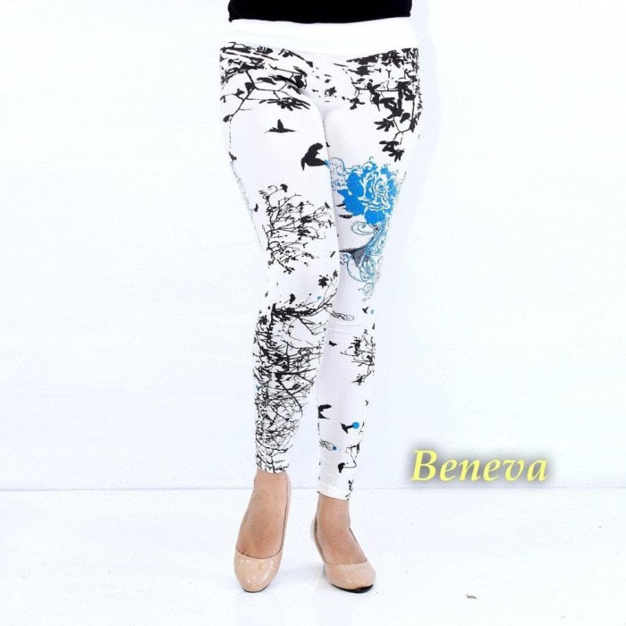 Jual Beneva Celana Legging Wanita Celana Legging Putih Celana Olah Raga Jakarta Barat Aendar39 Tokopedia