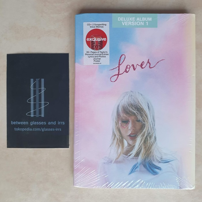 Jual [CD Import] Taylor Swift - Lover [Deluxe Edition