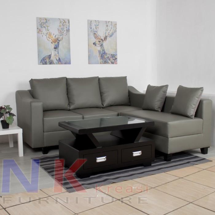Desain Ruang Tamu Tanpa Kursi  jual sofa kursi ruang tamu kantor minimalis kulit oscar meja cantik jakarta timur sofa minimalis custom tokopedia