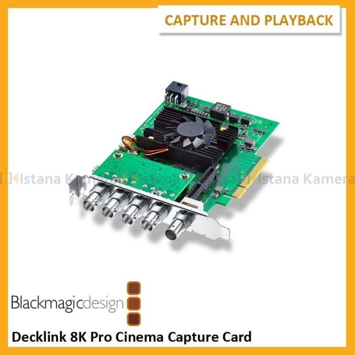 Jual Blackmagic Design Decklink 8k Pro Cinema Capture Card Jakarta Pusat Istana Kamera Official Tokopedia