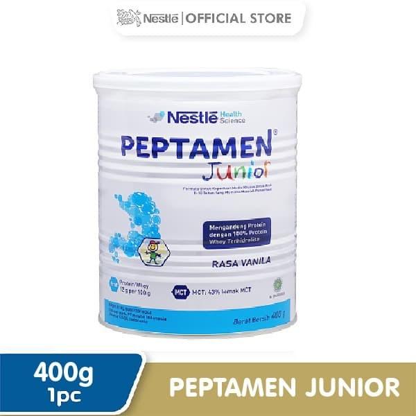 Foto Produk Peptamen Junior Susu Bubuk Kaleng400gr dari Nestle Indonesia