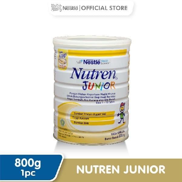 Foto Produk Nutren Junior Prebio Susu Bubuk Kaleng 800gr dari Nestle Indonesia