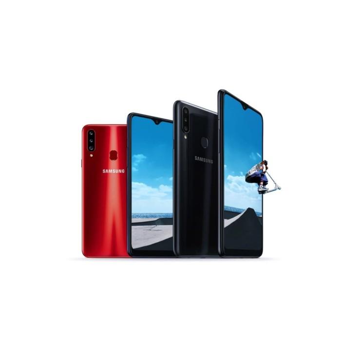 harga Samsung galaxy a20s 4/64 4gb 64gb garansi resmi sein 1 tahun - hitam Tokopedia.com