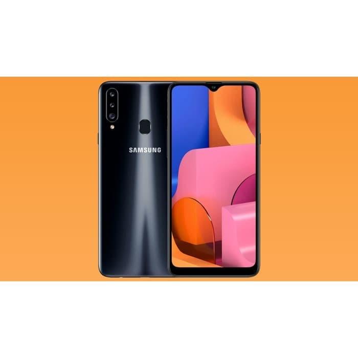 harga Samsung galaxy a20s 3/32 3gb 32gb garansi resmi sein 1 tahun - hitam fresh Tokopedia.com