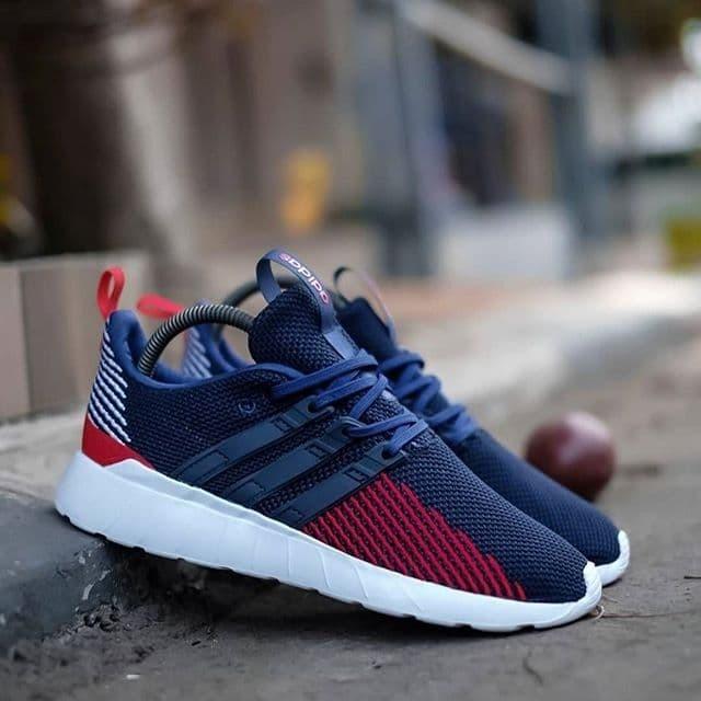 Jual Adidas Questar Flow Navy Red
