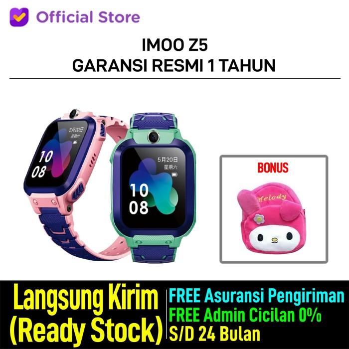 harga Imoo watch phone z5 - hd video call - jam anak pintar - garansi resmi - pink Tokopedia.com