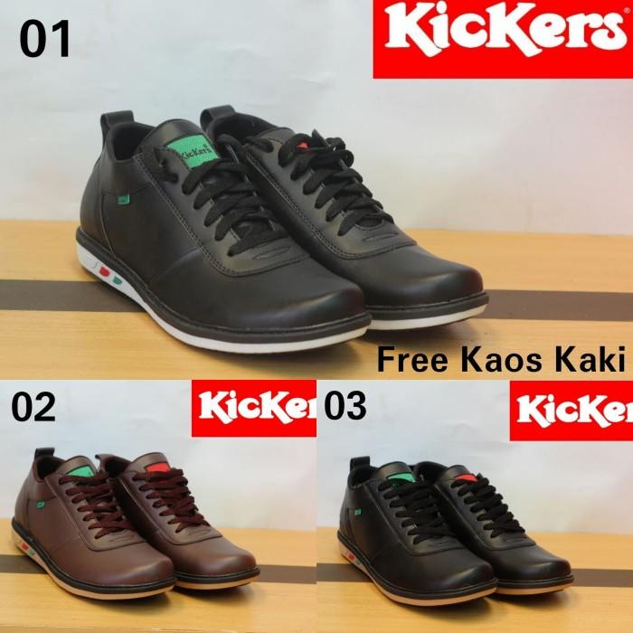 harga Sepatu casual pria kickers slip on santai cowok Tokopedia.com