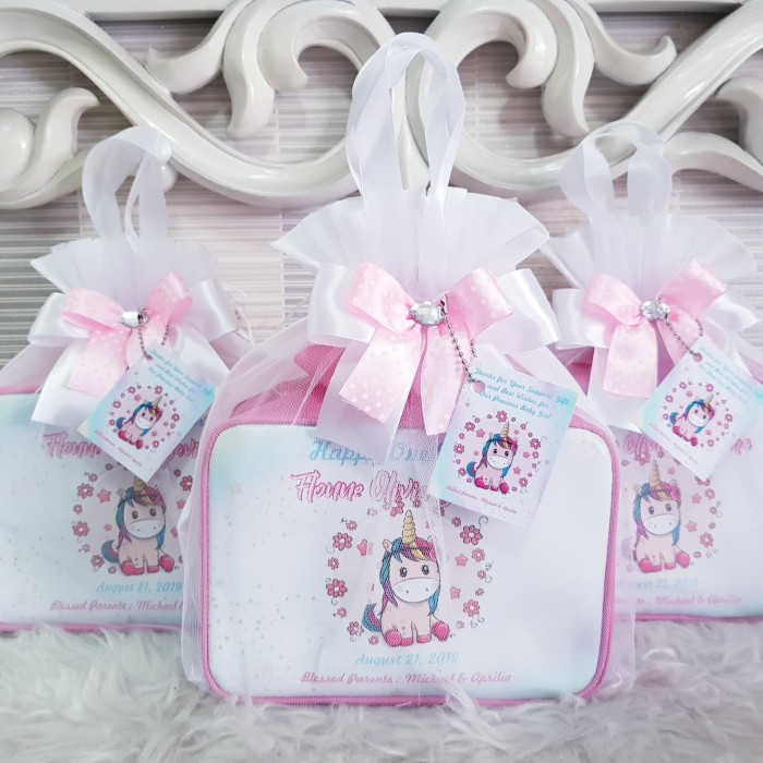 Foto Produk Hampers Welcoming Baby/Hampers Baby One Month/Souvenir Kelahiran Bayi dari DD Hamper's
