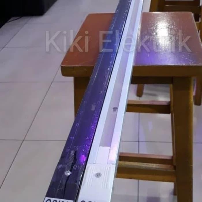 Foto Produk Rel Lampu Sorot / Track Spot Light 1,5 meter - Putih dari Kiki Elektrik
