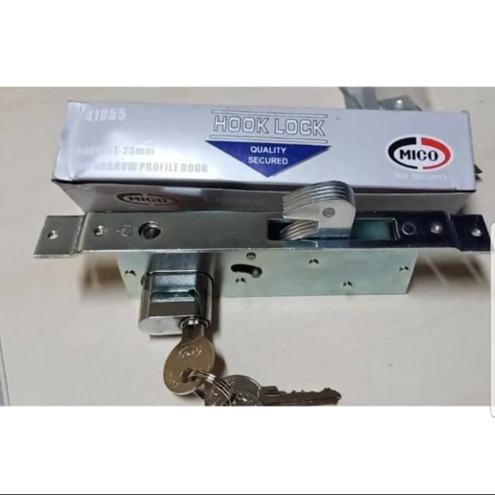 Jual Kunci Pintu Aluminium Sliding/Geser Mico type 4423 ...