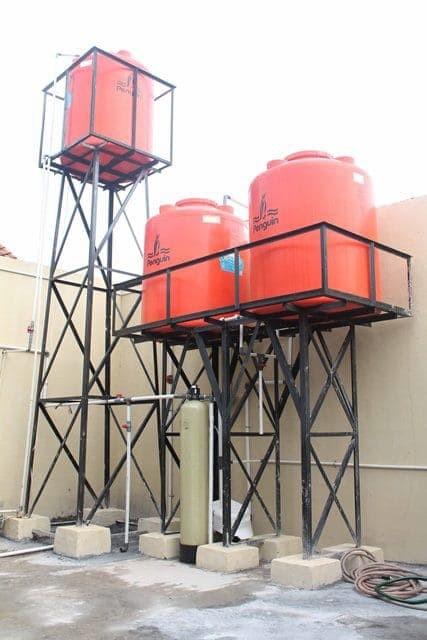Jual Menara Air Dudukan Toren Menara Air 4 Kaki Menara Air 1 Tiang
