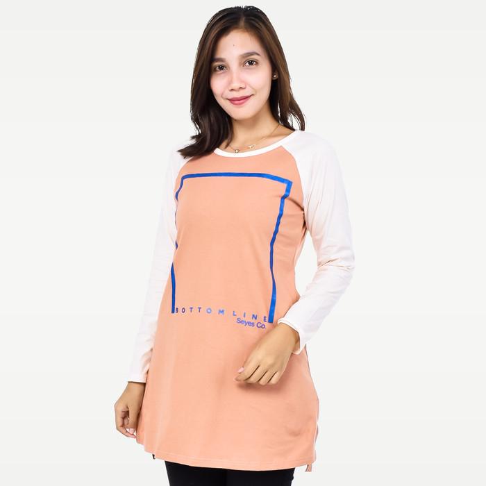 harga Seyes 5629 tumblr tee t-shirt kaos cewe cotton spandek premium orange - orange xl Tokopedia.com