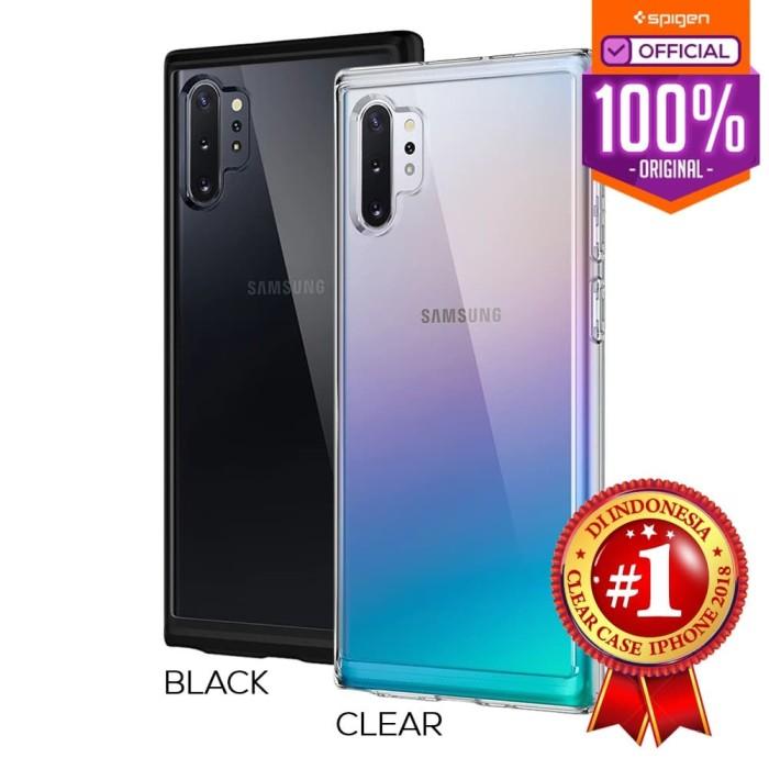 Foto Produk Case Galaxy Note 10 Plus / Note 10 Spigen Ultra Hybrid Anti Crack - Matte Black, Note 10 dari Spigen Official