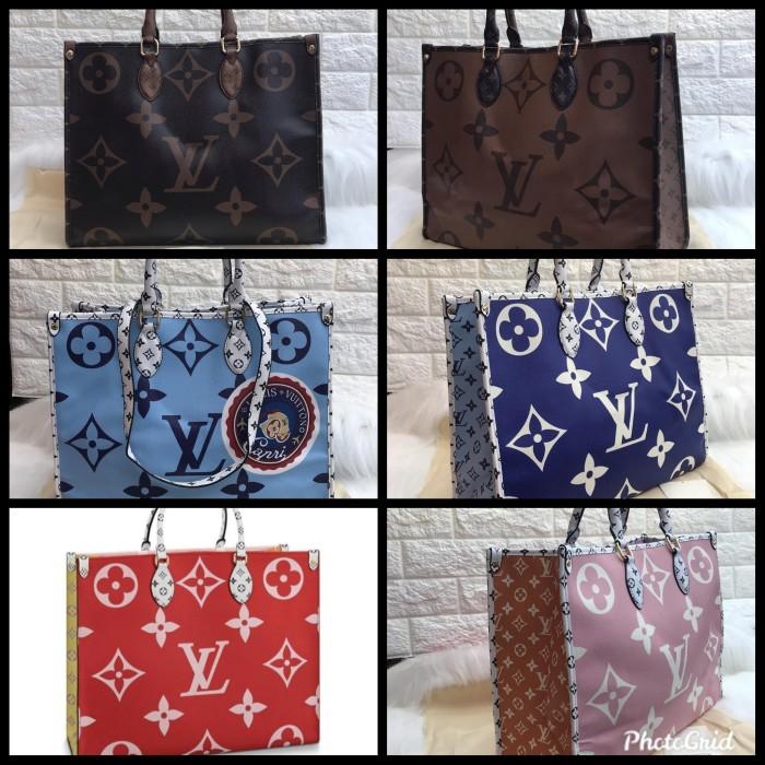 Jual Tas Wanita Tote Bag Selempang Multifungsi Lv Premium Brainly