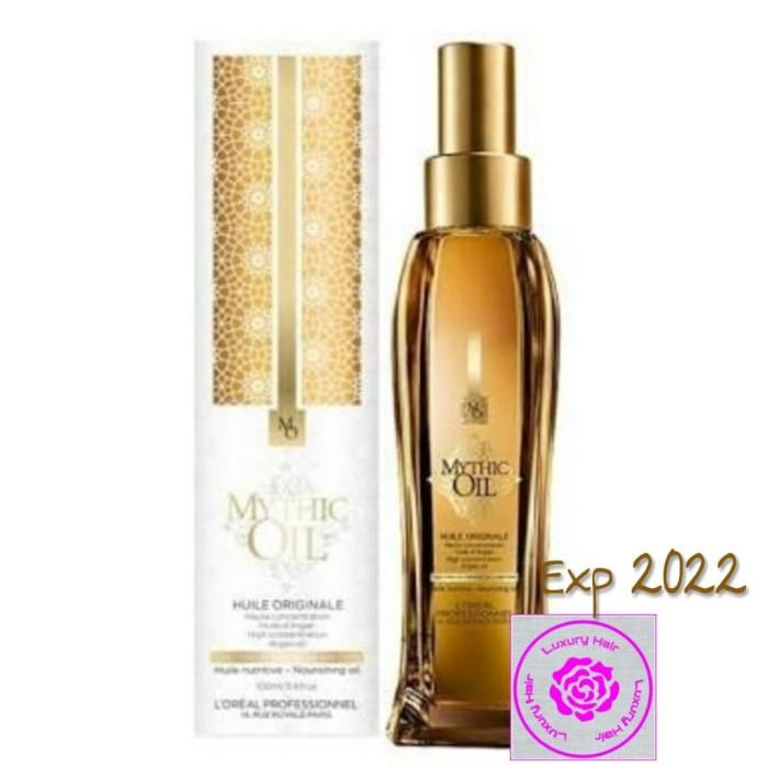 harga New original loreal mythic oil nourishing oil 100ml ( vitamin rambut ) Tokopedia.com
